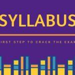 ESE exam syllabus