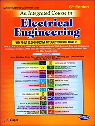 jb gupta objective book electrical