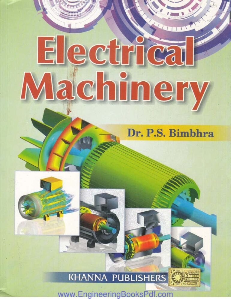electrical machinary by ps bhimbhra book